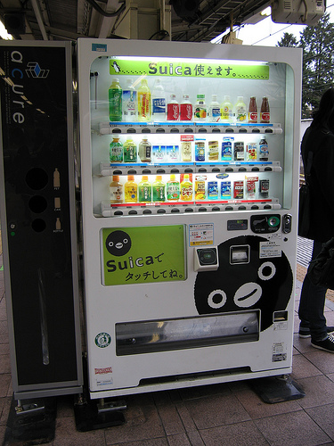 Las máquinas de vending emplean comunicaciones M2M. Autor jpellgen